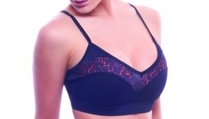 red fire dragonfly bra top black bodyzone front