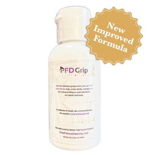 PFD pole dancing grip aid dry hands dance liquid gel back view (2)