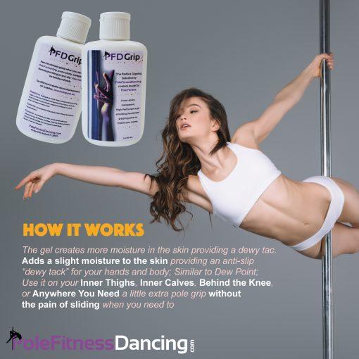 Pole Grip Aid Gel - Pole Dance Grip Aid