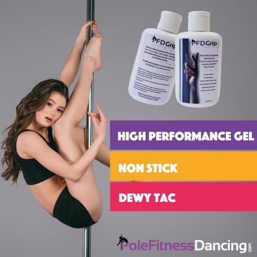 Pole Grip Aid Gel - liquid grip for pole dancing