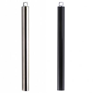 Lupit Stage dance pole extensions chrome stainless steel powder coated 750mm 1000mm 500mm