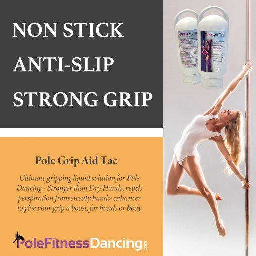 Pole Grip for Sweaty Hands