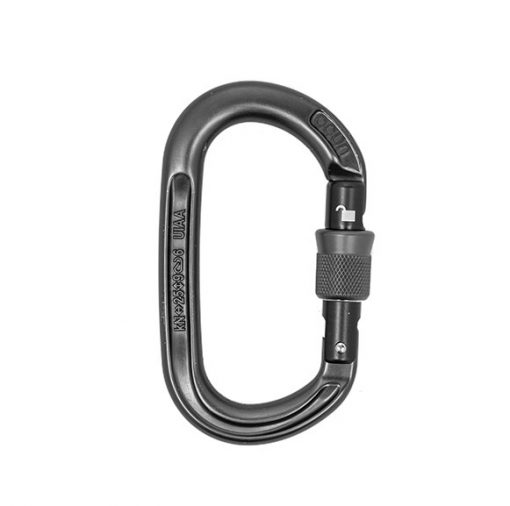 A snap hook carabiner for aerial equipment