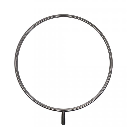 A stainless steel lupit lollipop for a lupit portable freestanding dance pole stage